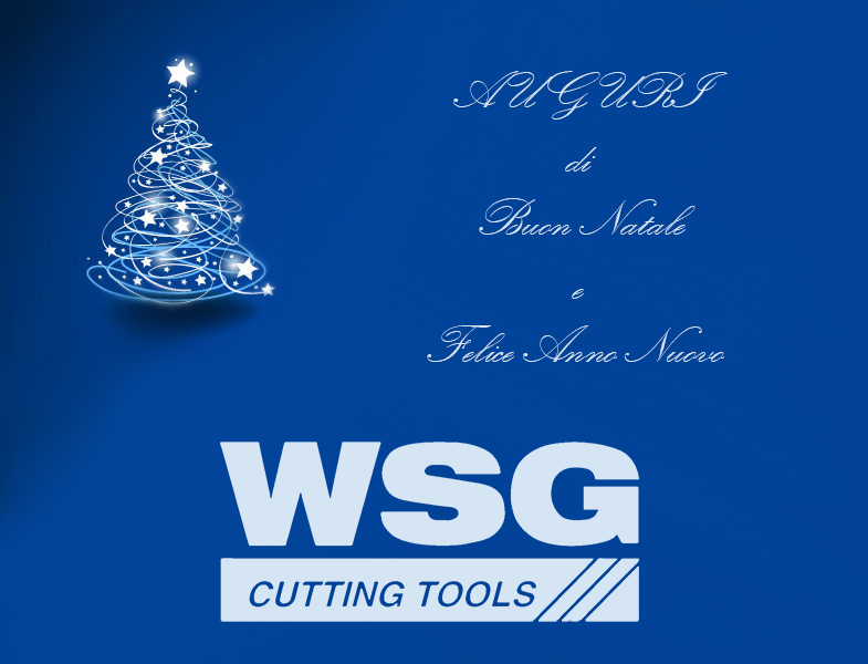 Cutting Tools WSG Centro Utensili Merry Christmas festivity wishes tap dies reamers end mills
