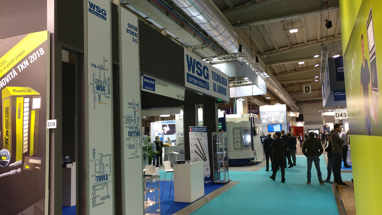 WSG Cutting Tools MECSPE 2018 Parma